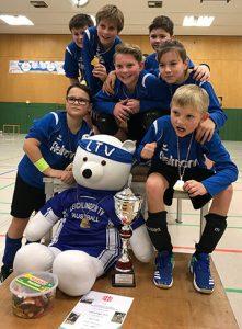 Halle 2018/19 Rheinischer Meister der Jugend U12 in Solingen