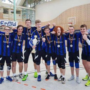 Halle 2018/19 Deutscher Vizemeister Jugend U18 in Dennach