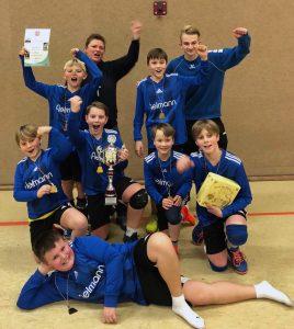Halle 2019/20 - Jugend U12 wird wieder Rheinischer Meister