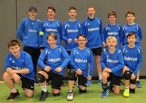 Halle 2019/20 Männliche U14 belegt Platz 3 und sichert sich DM-Ticket