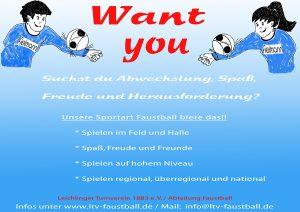 !! Wir suchen euch !!